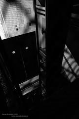 Dark room (Daniel Kulinski) Tags: door blackandwhite bw white black building darkroom dark photography europe image daniel room fear elevator creative picture samsung poland indoor warsaw inside 1977 16mm warszawa photograhy nx mazowieckie nx1 kulinski samsungnx samsungimaging imageloger samsung16mmf24 danielkulinski imagelogger samsungnx1 cameranx1
