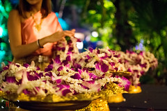 Welcome (Shane Hebzynski) Tags: party flower thailand bangkok garland conference x2 2016