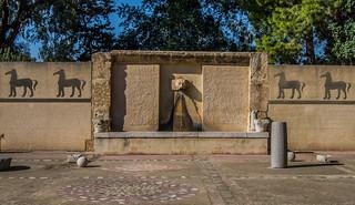 Carthage Museum fountain