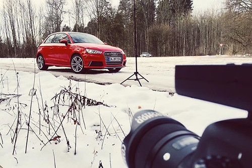 Shooting the small 🚀Audi S1 quattro...