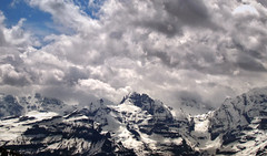 Bernese Oberland (VandenBerge Photography) Tags: travel sky panorama snow mountains alps nature clouds canon skyscape schweiz switzerland shades berneseoberland cantonberne thebeautyofnature