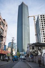 sinar massive  (1 of 1) (matteroffact) Tags: china tower architecture skyscraper mas nikon asia cityscape shanghai district andrew hong highrise vista sinar kou puxi hongkou supertall matteroffact rochfort andrewrochfort d800e sinarmastower