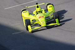 Pagenaud rolls out of the pit exit (michaelallanfoley) Tags: nikon 300mm fresnel 300 phase f4 vr pf f4e d7000