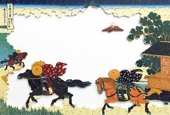 Les champs de Sekiya de Hokusai (www.puzzles-et-jeux.com) Tags: paris france fuji puzzle made wilson jigsaw hokusai mont bois michle artisanat