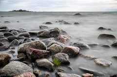 The windy west coast (- Man from the North -) Tags: sea sky seascape nature water rock finland nikon rocks dramatic windy naturallight scene filter slowshutter tamron westcoast longshutter ostrobothnia gulfofbothnia bigstopper