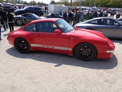 Porsche 911 (911gt2rs) Tags: show red rot cup meeting event coupe treffen carrera stance 993 sportwagen