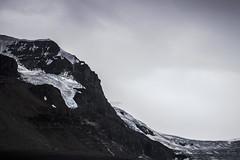 Glacier of the Rocky Mountain (tammydesu) Tags: mountain snow canada mountains ice nature landscape rockies cloudy rocky columbia glacier explore alberta icefield