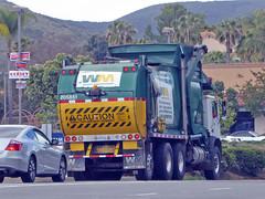 Waste Management Truck 5-23-16 (Photo Nut 2011) Tags: california trash garbage junk sandiego wm waste refuse sanitation garbagetruck wastemanagement trashtruck ranchobernardo wastedisposal