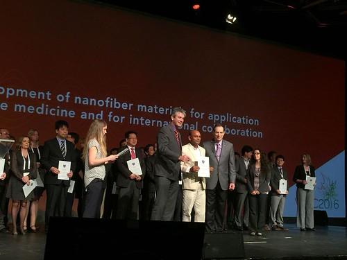 Prof. Seeram Ramakrishna honoured as the Fellow of Biomaterials Science and Engineering.