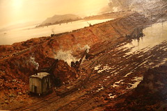 Excavating Manchester Ship Canal (Myrfyn) Tags: manchestershipcanal tattonpark