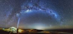 Light bending (jamesfultonphotography) Tags: mooreriver westernaustralia milkyway astrophotography