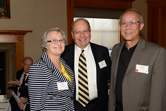 2016 Local Heroes - Pam & Les Stocker with Stan Kong