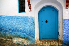IMG_3648 (rachel_salay) Tags: city blue morocco chefchaouen