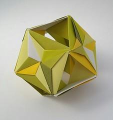 Cuboctahedron (modular.dodecahedron) Tags: modularorigami tomokofuse cuboctahedron