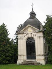 Mausoleum at ale Cemetery, Ljubljana, Slovenia (Wiebke) Tags: ljubljana slovenia europe vacationphotos travel travelphotos ale alecentralcemetery cemetery centralnopokopalieale pokopalie beigrad bezigrad