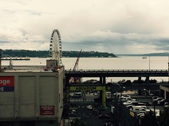 Big Wheel Off In the Distance (LANE5530) Tags: seattle washington downtown pikeplacemarket thebigwheel