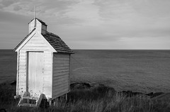 DSC_4080 (janetliz) Tags: church newfoundland spring outhouse avalon pouchcove phototour avalonpeninsula fareastphotography