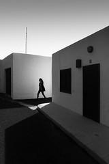 Untitled (RFVT) Tags: blackandwhite geometry lanzarote human fujifilm urbanlandscape urbanvisions humanfactor streetcompo xpro1 streetpassionaward humaningeometry
