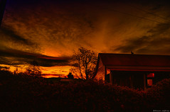The day after the shortest day longest night NZ (Kevin_Jeffries) Tags: lighting winter light nature weather reflections amber interesting flickr shadows redsky shortestday longestnight kevinjeffries