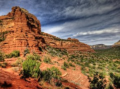 Red Rock Valley (KnightedAirs) Tags: arizona mountain rock digital canon photography photo sedona grand powershot epic hdr formations s100