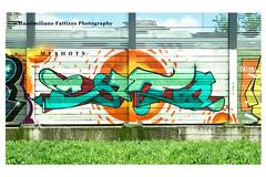 6900 (Massimiliano Fattizzo p.) Tags: street blackandwhite italy streetart milan colors graffiti colours milano colori