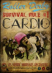 Roller derby survival rule #1 CARDIO