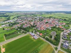 Machtolsheim (michab100) Tags: mibfoto michab100 mib luftaufnahmen luftbild laichingen machtolsheim wasserturm merklingen schwbischealb