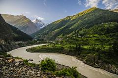 The Chanderbhaga (HighlanderAkash) Tags: landscape waterfall nikon wideangle himachalpradesh chamba ultrawideangle pangi d7000 pangivalley beautyofhimachal