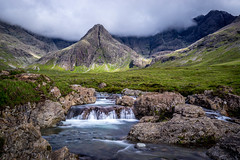 Fairy Pools (snazbaz) Tags: mountains skye scotland waterfall long exposure fairy pools
