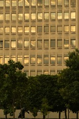 Sunset Reflecting on the Empire State Plaza_PL0127 (Prof Ryall) Tags: sunset reflection windows building architecture albanyny empirestateplaza