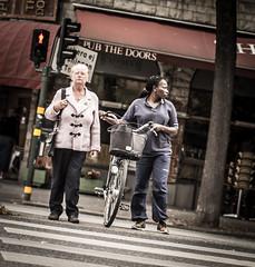 Crossing (Henka69) Tags: crossing street streetphoto candid stockholm streetcolour