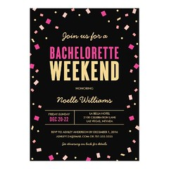(Bachelorette Weekend Itinerary Invitation) #Bachelorette, #BacheloretteParty, #BacheloretteWeekend, #Black, #Chic, #Confetti, #Details, #Flirty, #Fun, #GirlsNight, #GirlsWeekend, #Girly, #Gold, #Itinerary, #Modern, #Pink, #Wedding, #WeekendGetaway is ava (CustomWeddingInvitations) Tags: bachelorette weekend itinerary invitation bacheloretteparty bacheloretteweekend black chic confetti details flirty fun girlsnight girlsweekend girly gold modern pink wedding weekendgetaway is available custom unique invitations store httpcustomweddinginvitationsringscakegownsanniversaryreceptionflowersgiftdressesshoesclothingaccessoriesinvitationsbinauralbeatsbrainwaveentrainmentcombacheloretteweekenditineraryinvitation weddinginvitation weddinginvitations