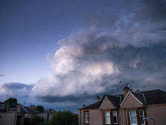 Crazy skies (scottishchris) Tags: apocalypse clouds edinburgh scotland unitedkingdom gb