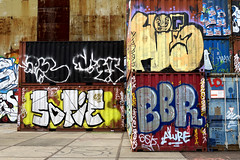 graffiti amsterdam (wojofoto) Tags: ndsm sofie bbr hi5 amsterdam nederland netherland holland wojofoto wolfgangjosten graffiti