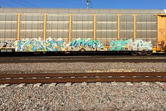 Much Kuma Stalk (Psychedelic Wardad) Tags: freight graffiti tci 7mk stalk kf kuma heavymetal hm ibd much