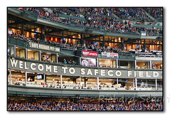 A Sea of Blue at Safeco (seagr112) Tags: seattle seattlemariners torontobluejays washington baseball baseballgame mlb team sport safecofield
