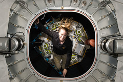 Kate Rubins Inside BEAM (NASA Johnson) Tags: kate rubins international space station bigelow aerospace activity module nasa