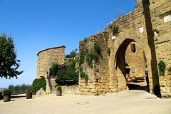 La porta (Daphne135) Tags: monticchiello medioevo fortezza estate toscana tuscany italia italy explore
