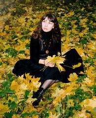 Natali Antonovich (Natali Antonovich) Tags: nataliantonovich portrait autumn pensiveautumn stare reverie fromfamilyalbum familyarchive belarus motherlandbelarus