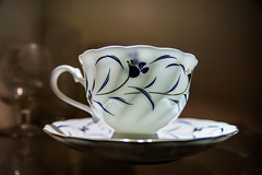 The cup (pons5607_3) Tags: tea chinese blue porcelain photograph sony ilca77m2 a77ii dt1750mmf28 stilllife art antique