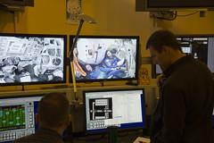 Thomas Pesquet during training at GCTC (europeanspaceagency) Tags: thomaspesquet peggywhitson olegnovitsky esa nasa roscosmos training astronauts astronauttraining space iss research gctc gagarin cosmonaut centre moscow
