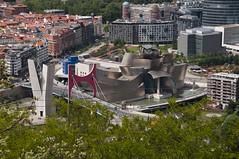 Bilbao - Espaa 2016 (Flat Grandpa) Tags: bilbao museoguggenheim frankgehry