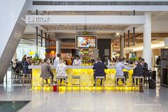 Limestone (Adam Dimech) Tags: limestone bar restaruant eatery canberraairport airport terminal building design interior canberra act australiancapitalterritory australia