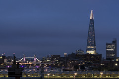 #VIEW58... (JH Images.co.uk) Tags: london shard towerbridge hdr dri night bluehour millenniumbridge blackfriarsbridge southwarkbridge bridges art architecture city cityscape skyline