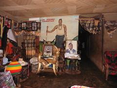 Behnadlungsraum des traditionellen Heilers Dr Formbintsam in Bambui bei Bamenda