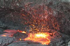 ERTA ALE ETHIOPIA (Olivier DARMON) Tags: de la desert ale terre magma cheveux erta grondement volcaneruptionrougeethiopieafar fusionfeu pelle