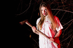 Killer 2 (markf5020) Tags: halloween up fun photography costume scary blood nikon october dress spooky killer gore horror terror axe murderer d7000 markf5020