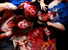 Zombie (REVIT PHOTO'S) Tags: halloween night scary zombie horror sentosa 2014 singaporetourismboard runofthedead