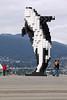 Digital Orca (Martin Third) Tags: sculpture canada art vancouver britishcolumbia coupland digitalorca