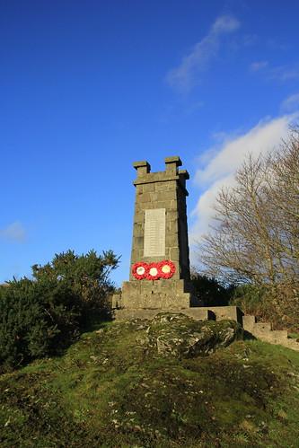 Kilchoan War Memorial, Highlands, Scotland.